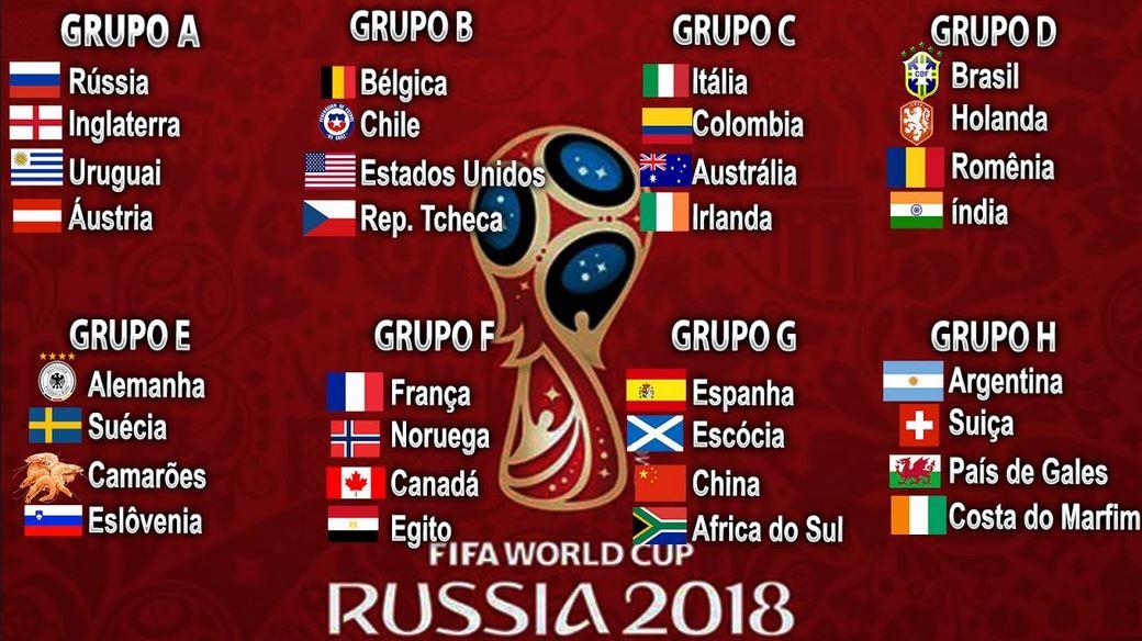 58f7c04d8 Seis seleções já estão classificadas para a segunda fase da Copa ...